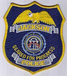 Jackson Police Patch (GA)