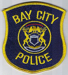 Bay City Police Patch (MI)