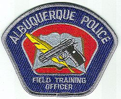 Albuquerque Field Training Officer Police Patch (NM)
