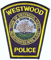 Westwood Police Patch (MA)