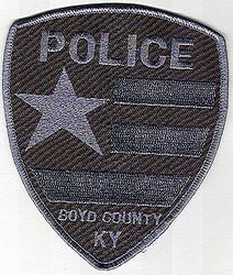 Boyd Co. Police SWAT Patch (KY)