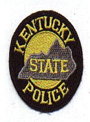 State: KY, State Police Patch (cap size)