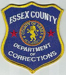 Essex Co. Dept of Corrections Patch (new) (NJ)