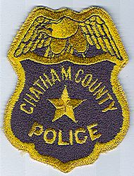 Chatham Co. Police Patch (GA)
