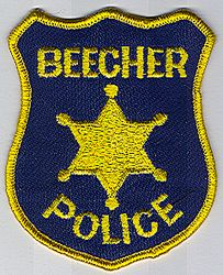 Beecher Police Patch (IL)