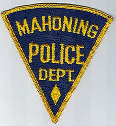 Mahoning Police Patch (OH)