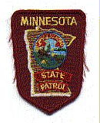 State: MN, State Patrol Patch (cap size)