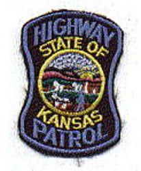 State: KS, Highway Patrol Patch (cap size)