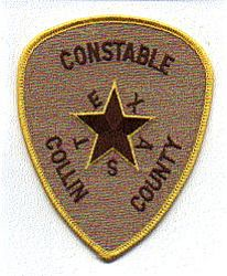 Collin Co. Constable Patch (yellow edge) (TX)
