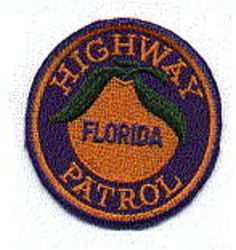 State: FL, Highway Patrol Patch (cap size)