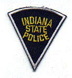 State: IN, State Police Patch (cap size)