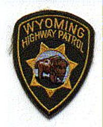 State: WY, Highway Patrol Patch (cap size)