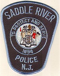 Saddle River Police Patch (NJ)