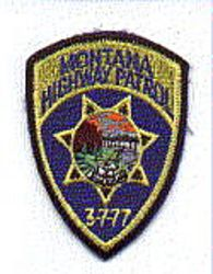 State: MT, Highway Patrol Patch (cap size)