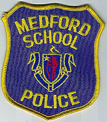 School: MA, Medford School Police Patch