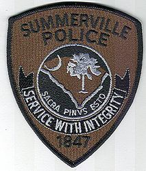 Summerville SWAT Police Patch (green/black) (SC)