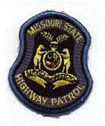State: MO, State Highway Patrol Patch (cap size)