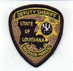 Sheriff: LA, Madison Parish Deputy Sheriff Patch (cap size)