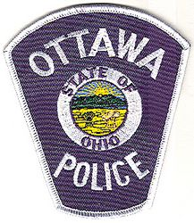 Ottawa Police Patch (white edge) (OH)