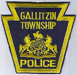 Gallitzin Twp. Police Patch (PA)