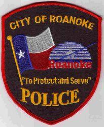Roanoke Police Patch (TX)