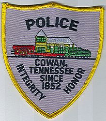 Cowan Police Patch (TN)