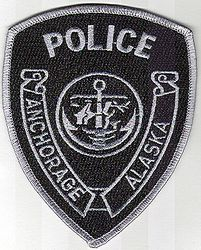 Anchorage SWAT Police Patch (AK)