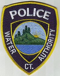 Water Authority Police Patch (CT)