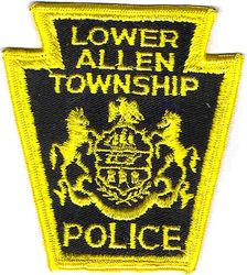 Lower Allen Twp. Police Patch (full edge) (PA)