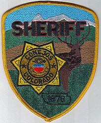 Sheriff: CO, Conejos Sheriff 1876 Patch (elk)