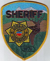 Sheriff: CO, Conejos Sheriff 1876 Patch (elk)