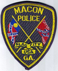Macon Police Patch (GA)