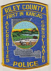 Riley Co. Police Patch (KS)