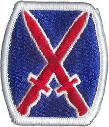 10th INFANTRY DIVISION (MOUNTAIN)