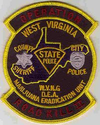 Multi Jurisdictional Operation Road Kill II Patch (WV)