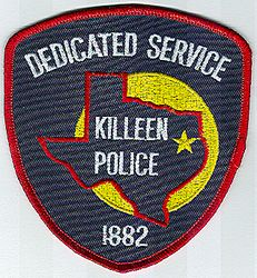 Killeen Police Patch (TX)