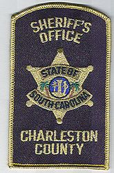 Sheriff: SC. Charleston Co. Sheriffs Office Patch (large)