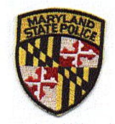 State: MD, State Police Patch (cap size)