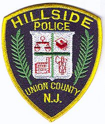 Hillside Police Patch (large) (NJ)