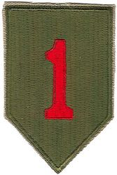 1st INFANTRY DIVISION WWII (REPRO)