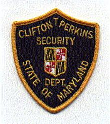 Clifton T. Perkins Security Dept. Patch (MD)