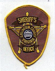 Sheriff: VA, Arlington Co. Sheriffs Office Patch (building)