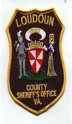 Sheriff: VA, Loudoun Co. Sheriffs Office Patch(brown twill)