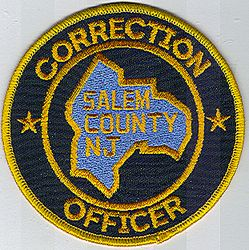 Salem Co. Correction Officer Patch (NJ)