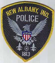New Albany Police Patch (IN)