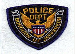 Jefferson Borough Police Patch (eagle) (PA)