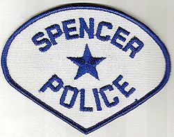 Spencer Police Patch (WV)