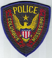 Columbus Police Patch (MS)