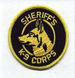 Misc: Sheriffs K-9 Corps Patch