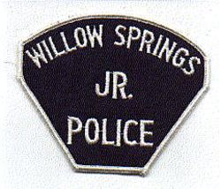 Willow Springs Jr. Police Patch (MO)